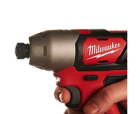 Аккумуляторный импульсный винтоверт Milwaukee M12 BID-202C - 4933443895, фото , изображение 8