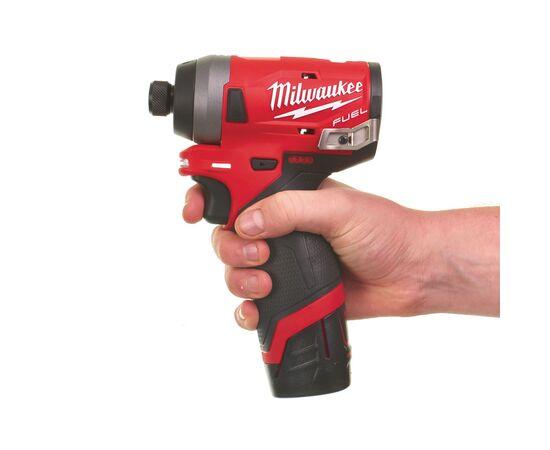 Аккумуляторный импульсный винтоверт Milwaukee M12 FID-0 - 4933459822, Вариант модели: M12 FID-0, фото , изображение 2