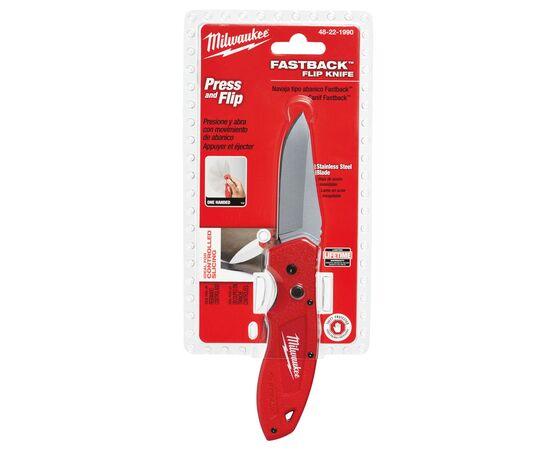 Складной нож Milwaukee FASTBACK™ FOLDING KNIFE - 48221990, фото , изображение 5