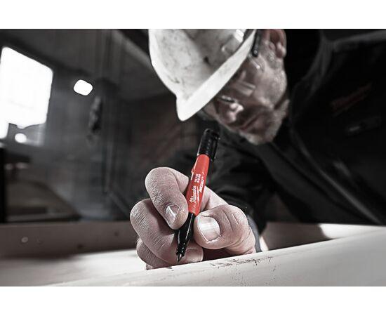 Тонкий маркер Milwaukee INKZALL™ MARKER 1 шт - 48223100, фото , изображение 3