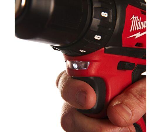 Купить Аккумуляторная дрель-шуруповерт Milwaukee M12 BDD-202C - 4933441915, 6 на официальном сайте Milwaukee redtool.by (milwaukeetool.by)