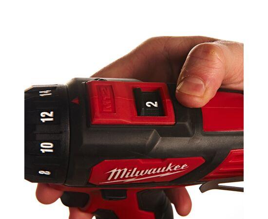 Купить Аккумуляторная дрель-шуруповерт Milwaukee M12 BDD-202C - 4933441915, 5 на официальном сайте Milwaukee redtool.by (milwaukeetool.by)
