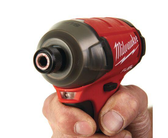 Аккумуляторный импульсный гидравлический винтоверт Milwaukee M12 FQID-0 - 4933464972, Вариант модели: M12 FQID-0, фото , изображение 5