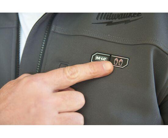 Купить Куртка с подогревом Milwaukee M12 HJ GREY3-0 M - 4933451592, 10 на официальном сайте Milwaukee redtool.by (milwaukeetool.by)