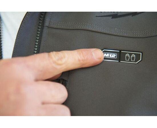 Купить Куртка с подогревом Milwaukee M12 HJ GREY3-0 M - 4933451592, 8 на официальном сайте Milwaukee redtool.by (milwaukeetool.by)