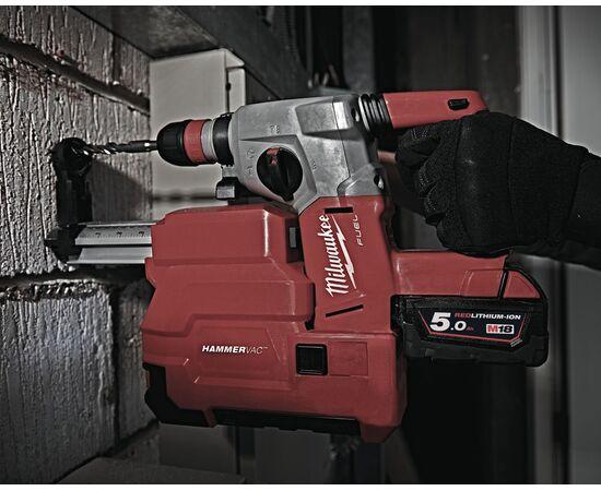 Купить Аккумуляторный перфоратор Milwaukee M18 CHXDE-502C с системой пылеудаления - 4933448185, 2 на официальном сайте Milwaukee redtool.by (milwaukeetool.by)