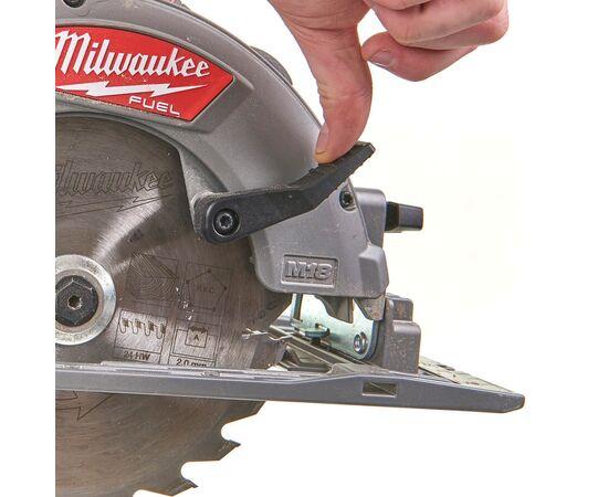 Аккумуляторная циркулярная пила по дереву и пластику Milwaukee M18 FCS66-0 - 4933471376, фото , изображение 6