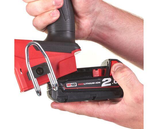 Аккумуляторный гвоздезабиватель Milwaukee M18 FUEL™ FN18GS-0X - 4933471409, фото , изображение 9