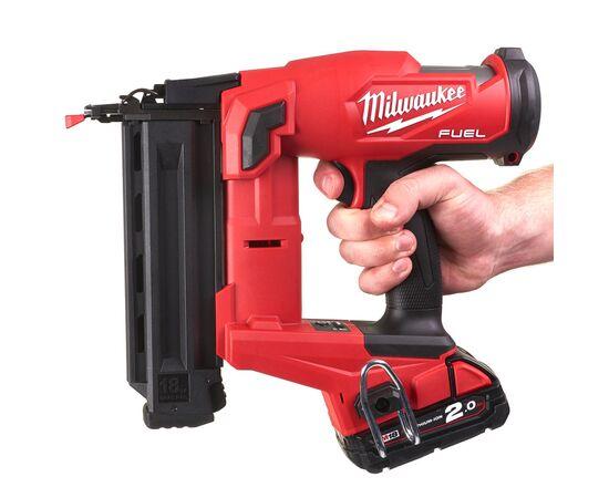 Аккумуляторный гвоздезабиватель Milwaukee M18 FUEL™ FN18GS-202X - 4933471407, фото