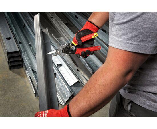 Ножницы по металлу Milwaukee METAL SNIPS STRAIGHT прямой рез - 48224530, фото , изображение 2