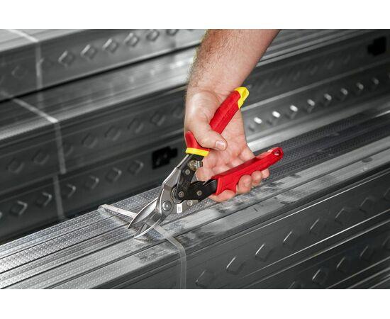 Ножницы по металлу Milwaukee METAL SNIPS STRAIGHT прямой рез - 48224530, фото , изображение 3