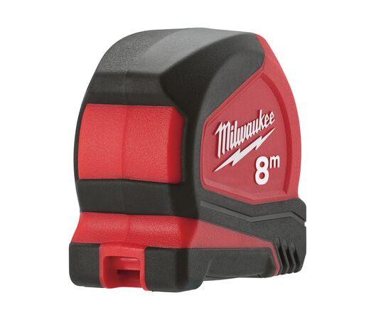 Купить Рулетка Milwaukee PRO COMPACT 8m - 4932459594, 5 на официальном сайте Milwaukee redtool.by (milwaukeetool.by)