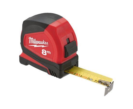 Купить Рулетка Milwaukee PRO COMPACT 8m - 4932459594, 3 на официальном сайте Milwaukee redtool.by (milwaukeetool.by)
