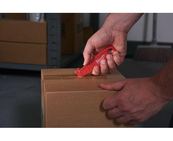 Безопасный нож-резак для вскрытия упаковки Milwaukee SAFETY CUTTER - 48221916, фото , изображение 2