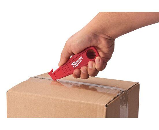 Безопасный нож-резак для вскрытия упаковки Milwaukee SAFETY CUTTER - 48221916, фото , изображение 3
