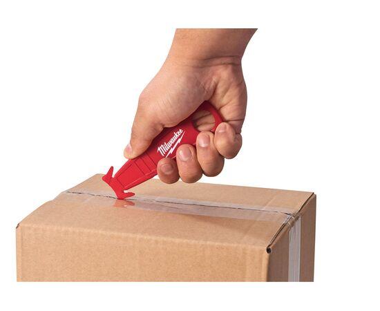 Безопасный нож-резак для вскрытия упаковки Milwaukee SAFETY CUTTER - 48221916, фото , изображение 4