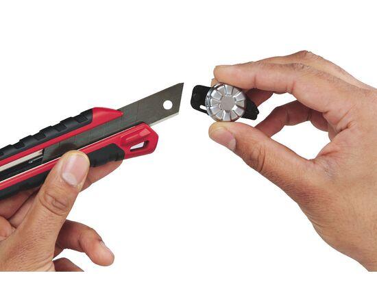 Выдвижной нож Milwaukee SNAP KNIFE 18 MM - 48221961, фото , изображение 5