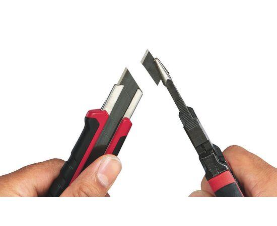 Выдвижной нож Milwaukee SNAP KNIFE 18 MM - 48221961, фото , изображение 6