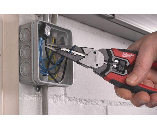 Многофункциональные плоскогубцы кусачки для зачистки проводов Milwaukee 6 IN 1 190MM - 48229069, фото , изображение 3