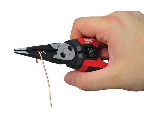 Многофункциональные плоскогубцы кусачки для зачистки проводов Milwaukee 6 IN 1 190MM - 48229069, фото , изображение 8