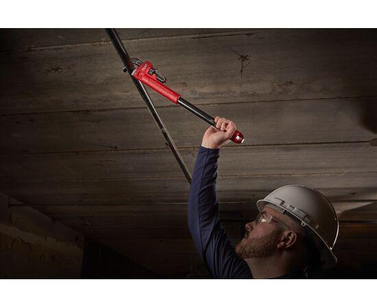 Разводной трубный ключ со сменными рукоятками Milwaukee CHEATER - 48227314, фото , изображение 3