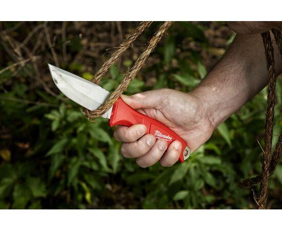 Нож с фиксированным лезвием Milwaukee FIXED BLADE KNIFE - 4932464828, фото , изображение 2