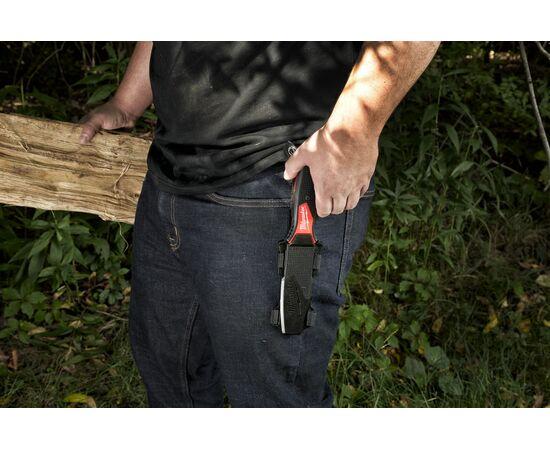 Нож с фиксированным лезвием Milwaukee HARDLINE™ FIXED BLADE KNIFE - 4932464830, фото , изображение 3