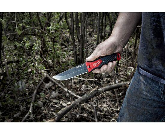 Нож с фиксированным лезвием Milwaukee HARDLINE™ FIXED BLADE KNIFE - 4932464830, фото , изображение 8