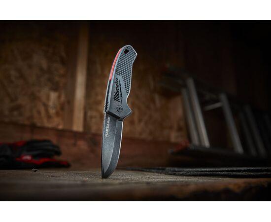 Складной нож с гладким лезвием Milwaukee HARDLINE™ FOLDING KNIFE - 48221994, фото , изображение 2
