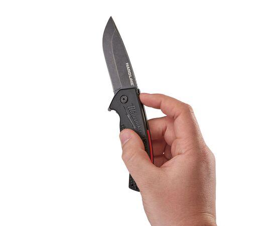Складной нож с гладким лезвием Milwaukee HARDLINE™ FOLDING KNIFE - 48221994, фото , изображение 4