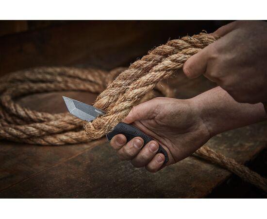 Складной нож с зазубренным лезвием Milwaukee HARDLINE™ FOLDING KNIFE - 48221998, фото , изображение 3