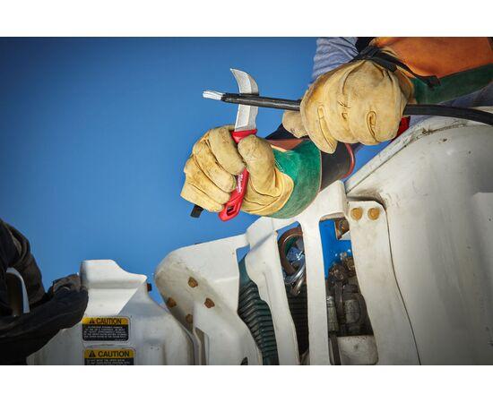 Нож с загнутым фиксированным лезвием Milwaukee HAWKBILL FIXED BLADE KNIFE - 4932464829, фото , изображение 3