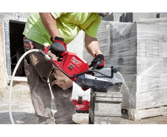 Отрезная машина бетонорез Milwaukee M18 FCOS230-121 (замена бензореза) - 4933471698, фото , изображение 16