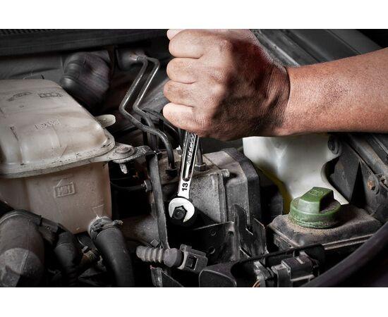 Набор комбинированных метрических ключей Milwaukee MAX BITE™ METRIC COMBINATION SPANNER SET 15 шт - 4932464258, фото , изображение 2