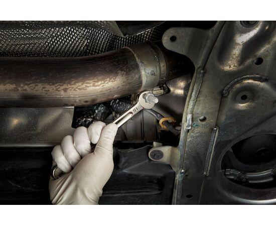 Набор комбинированных метрических ключей Milwaukee MAX BITE™ METRIC COMBINATION SPANNER SET 15 шт - 4932464258, фото , изображение 3
