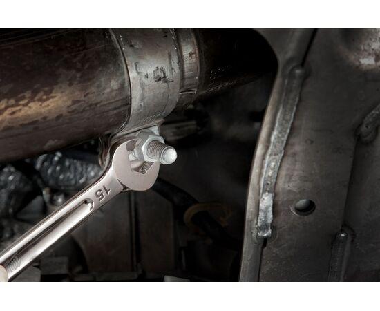Набор комбинированных метрических ключей Milwaukee MAX BITE™ METRIC COMBINATION SPANNER SET 15 шт - 4932464258, фото , изображение 5
