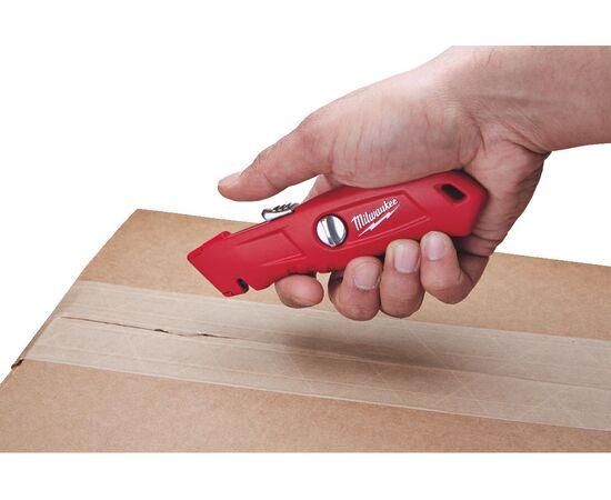 Выдвижной самовозвращающийся нож Milwaukee SELF-RETRACTING SAFETY KNIFE - 48221915, фото , изображение 2