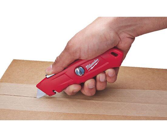 Выдвижной самовозвращающийся нож Milwaukee SELF-RETRACTING SAFETY KNIFE - 48221915, фото , изображение 3