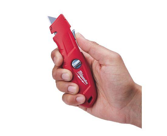 Выдвижной самовозвращающийся нож Milwaukee SELF-RETRACTING SAFETY KNIFE - 48221915, фото , изображение 10
