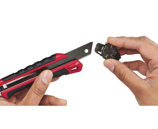 Выдвижной нож Milwaukee SNAP KNIFE 25 MM - 48221962, фото , изображение 6