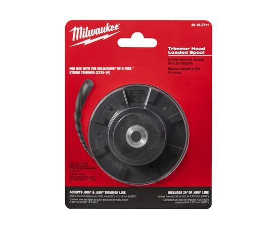 Внутренняя катушка для триммера Milwaukee TRIMMER REPLACEMENT SPOOL - 49162711, Вариант модели: TRIMMER REPLACEMENT SPOOL, фото , изображение 2
