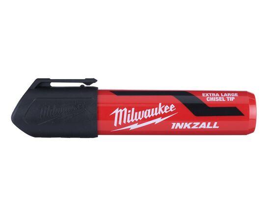 Маркер для стройплощадки Milwaukee INKZALL™ black chisel tip marker XL - 4932471559, фото