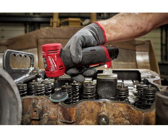 Аккумуляторная угловая цанговая шлифмашина Milwaukee M12 FUEL™ FDGA-422B - 4933471440, фото , изображение 12