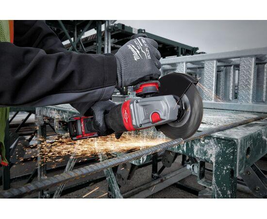 Аккумуляторная углошлифовальная машина Milwaukee M18 FHSAG125XPDB-552X - 4933471080, Вариант модели: M18 FHSAG125XPDB-552X, фото , изображение 10