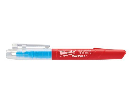 Маркер текстовыделитель Milwaukee INKZALL™ HIGHLIGHTER цветные - 5 шт - 48223206, фото , изображение 10