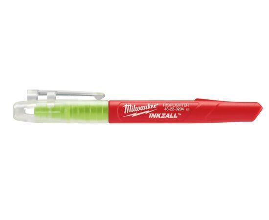 Маркер текстовыделитель Milwaukee INKZALL™ HIGHLIGHTER цветные - 5 шт - 48223206, фото , изображение 8