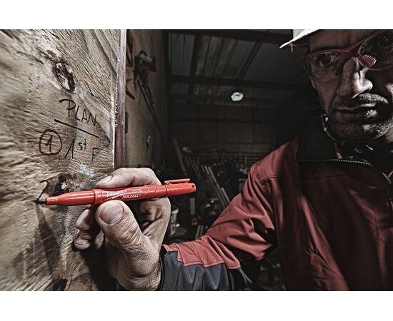 Цветные маркеры Milwaukee INKZALL™ COLOUR MARKERS 4 шт - 48223106, фото , изображение 11