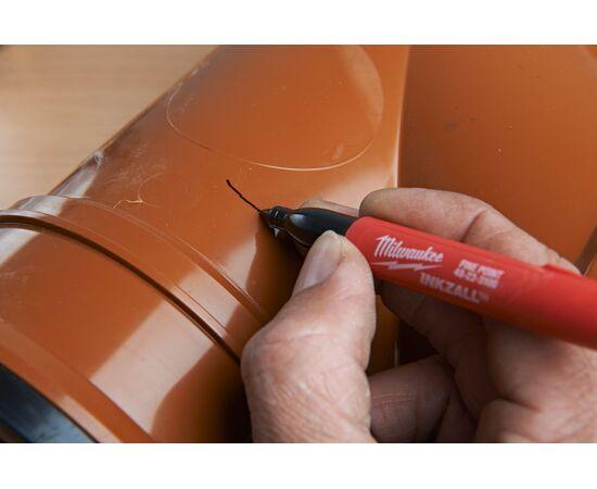 Цветные маркеры Milwaukee INKZALL™ COLOUR MARKERS 4 шт - 48223106, фото , изображение 17