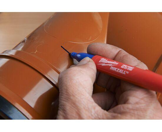Цветные маркеры Milwaukee INKZALL™ COLOUR MARKERS 4 шт - 48223106, фото , изображение 18