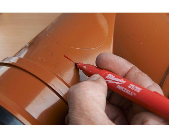 Цветные маркеры Milwaukee INKZALL™ COLOUR MARKERS 4 шт - 48223106, фото , изображение 16